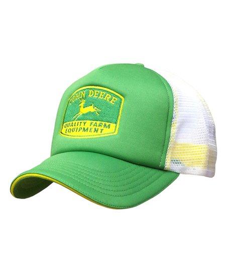 f4cd014310b Green  John Deere Quality Farm Equipment  Trucker Hat