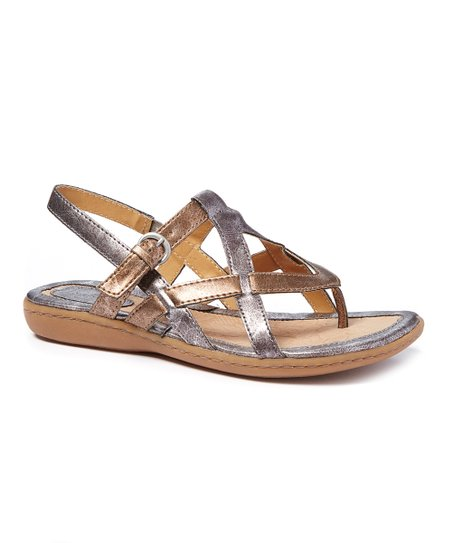 c70e60ae10cd love this product Pewter   Rose Gold Averie Sandal