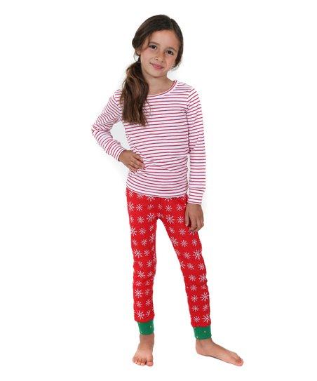 Holiday Sonia Sleepwear Top & Bottoms - Toddler & Girls