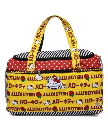 O Kitty Strawberry Stripes Starlet Diaper Bag