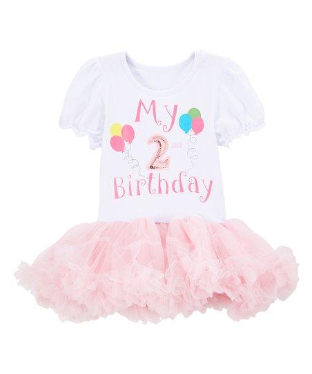 Love This Product White Pink My 2nd Birthday Tutu Dress