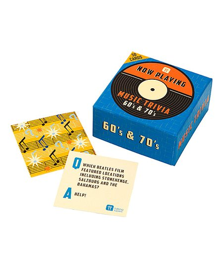 Now Playing 60s 70s Music Trivia Game