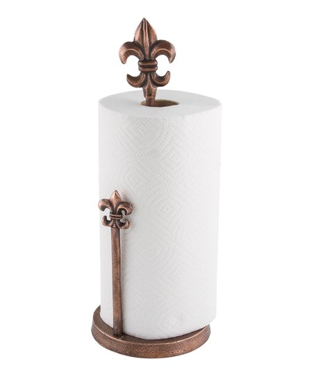 Thirstystone Fleur De Lis Paper Towel Holder Zulily