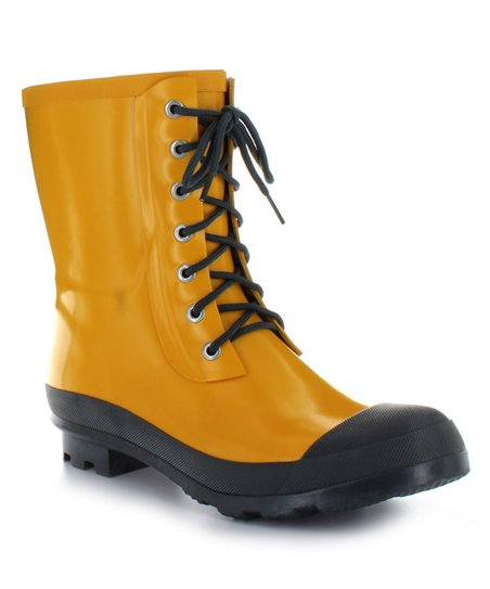 Love This Product Yellow Highlands Rain Boot