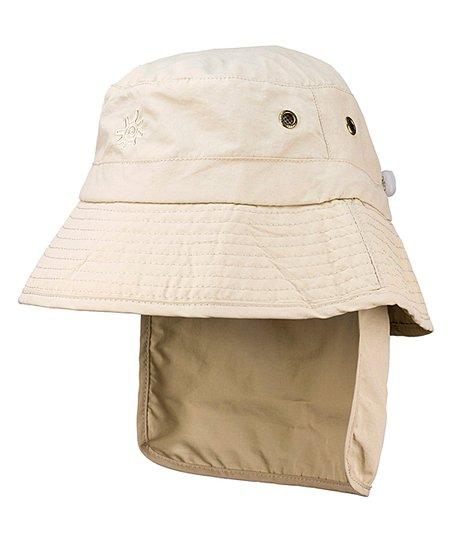 UV Skinz Cream Back-Flap Bucket Hat  4645dc4d1f7