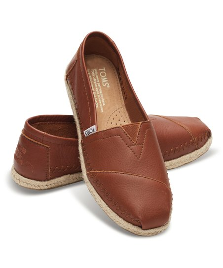 1b52211a7 TOMS Cognac Leather Classics | Zulily