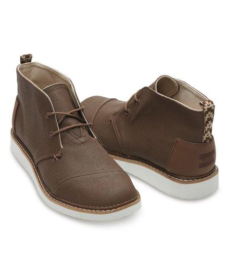 Custom Chukka Canvas Shoes Beauty in The Dark Chukka Canvas Shoes for Men