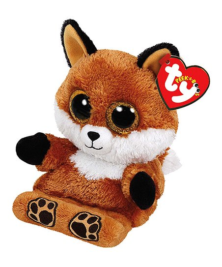 Ty Sly The Fox Peek A Boo Plush Phone Holder Zulily