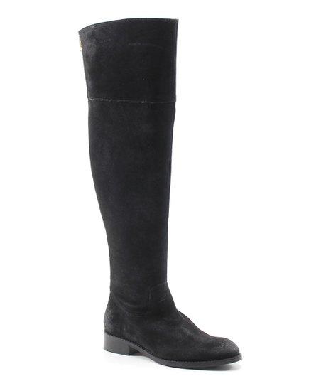 234543dea61c Diba True Black Thumbs Up Suede Boot - Women