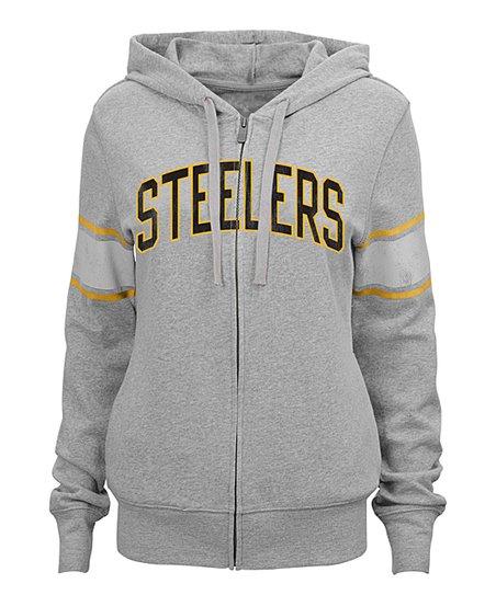 more photos 60270 02b52 Outerstuff Pittsburgh Steelers Boyfriend Hoodie - Women | Zulily