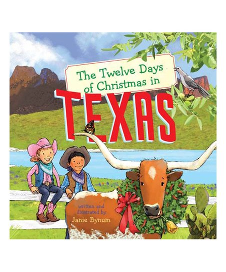 Twelve Days Of Christmas Book.Sterling The Twelve Days Of Christmas In Texas Board Book