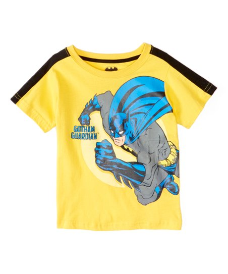 0fda57a9 love this product Yellow Batman 'Gotham Guardian' Tee - Toddler