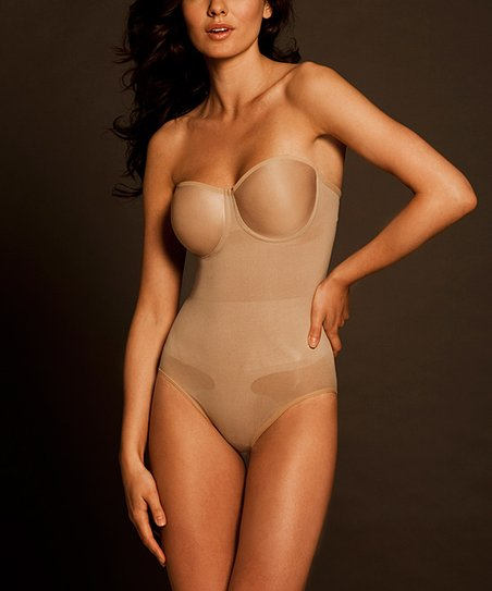 09df46df3 love this product Nude Seamless Pinup Shaper Strapless Bodysuit - Women