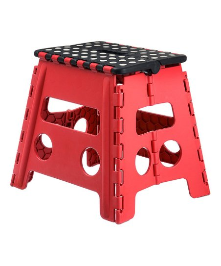 Pleasing Home It Red Folding Step Stool Ocoug Best Dining Table And Chair Ideas Images Ocougorg