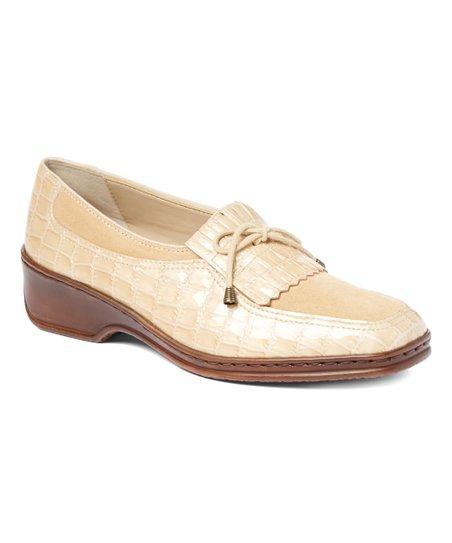 f5133fd63da ara Cotton Croc-Embossed Rachel Patent Leather Loafer - Women