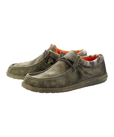 14667cf1ea88a Hey Dude Shoes Camo Wally Loafer - Men | Zulily