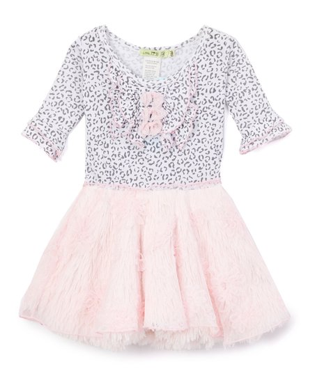 e19e65d16 love this product Pink Leopard Ruffle A-Line Dress - Toddler & Girls