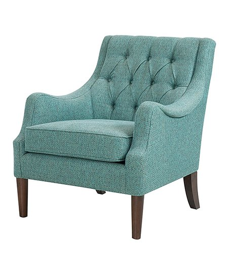 Love This Product Teal Oren Button Tufted Chair