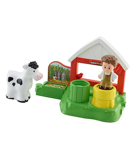 Fisher Price Fisher Price Little People Dairy Barn Zulily