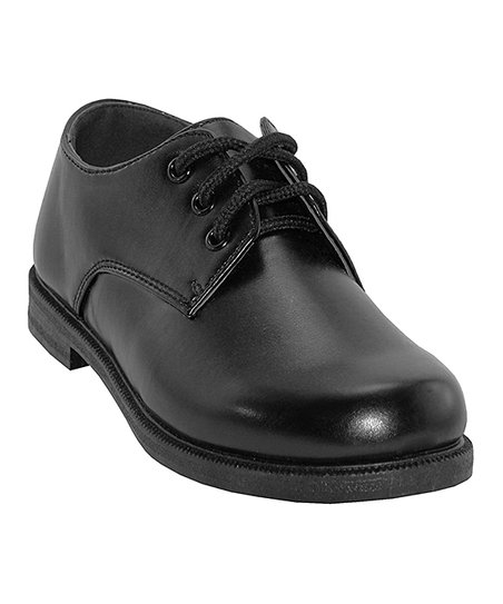 Easy Shoes Black Dress Shoe Boys Zulily