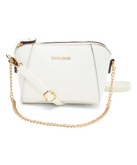 0815fe7dd91 love this product White Chain-Strap Crossbody Bag
