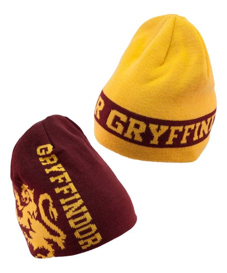adf9f303f6c elope Harry Potter Gryffindor House Reversible Beanie