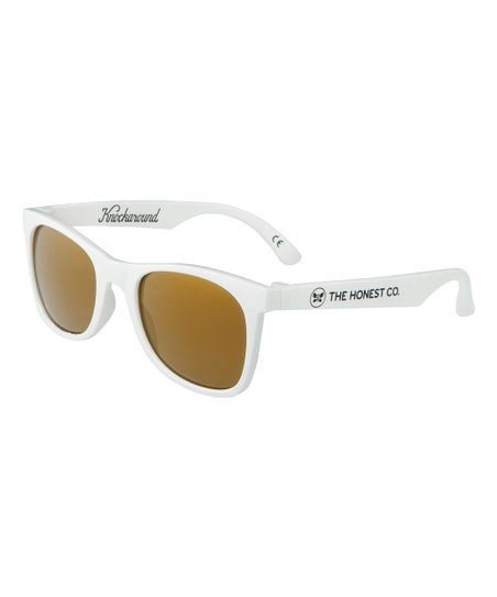 f18ec46958 The Honest Company White Knockaround Sunglasses