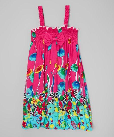 667c2d5ab3f8 Wenchoice Hot Pink Mushroom Babydoll Dress - Infant
