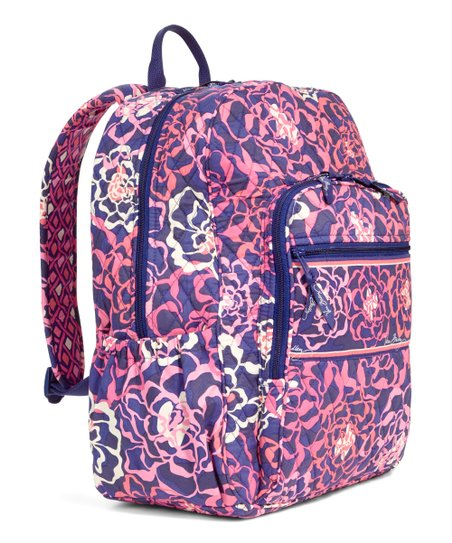 17d083671 Vera Bradley Katalina Pink Campus Backpack | Zulily