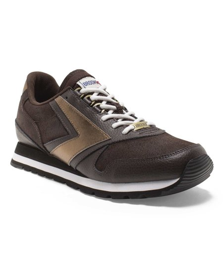 2a9abbaf5eb Brooks Coffee House Mocha Brown Chariot Suede Heritage Sneaker - Men ...