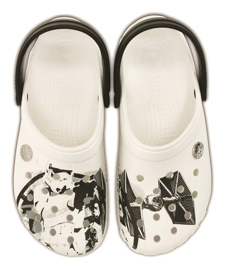 17ae29793440 love this product White   Black Star Wars Stormtrooper Clog - Unisex