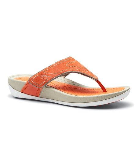 c77d7948deb love this product Tangerine Katy Suede Sandal - Women