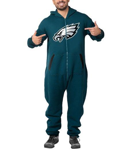 the best attitude 944fa 7922b Philadelphia Eagles One-Piece Jumpsuit - Adult
