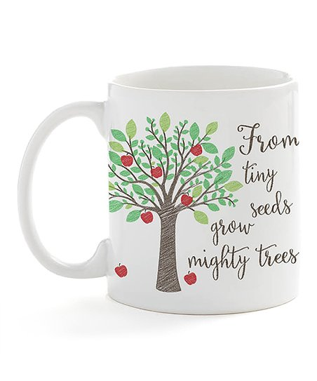 40c9ddb30d9 Personalized Planet 'From Tiny Seeds' Personalized Coffee Mug
