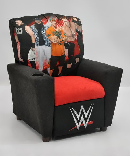 Peachy Kidzworld Wwe Kids Recliner Gmtry Best Dining Table And Chair Ideas Images Gmtryco
