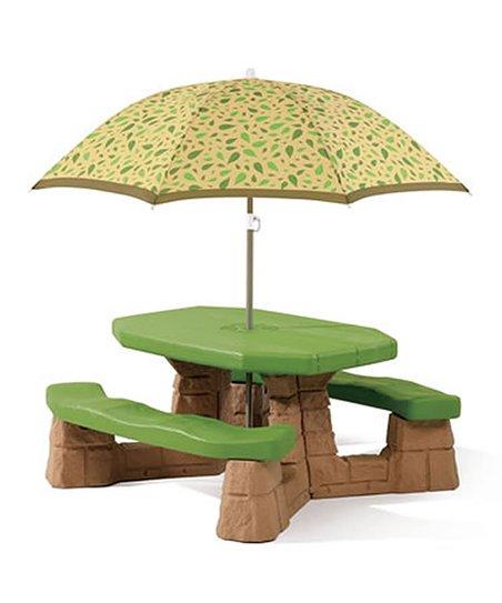Stupendous Step2 Kids Picnic Table Umbrella Download Free Architecture Designs Scobabritishbridgeorg
