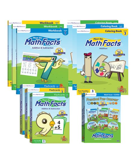 Preschool Prep Meet the Math Facts Pack