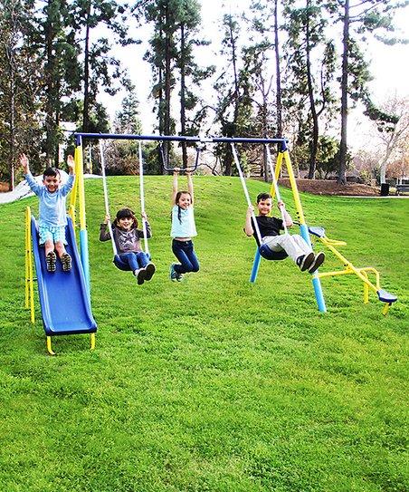 Sportspower Super First Metal Swing Set Zulily