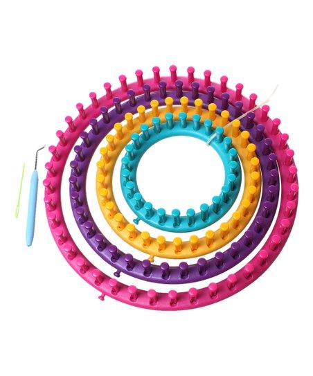 Darn Good Yarn Round Knitting Loom Set Zulily