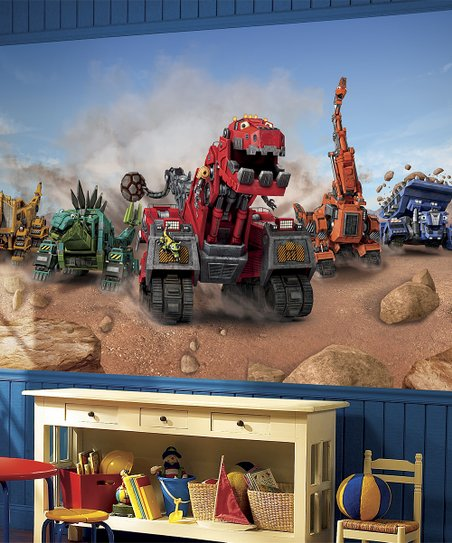 Dinotrux Dinotrux Extra-Large Pre-Pasted Wall Mural