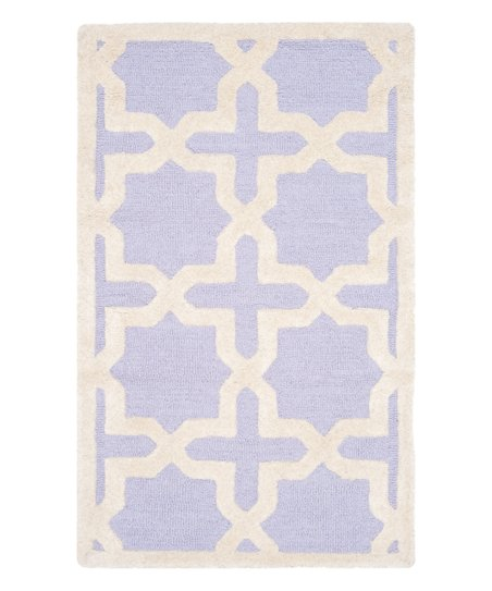 Lavender & Ivory Cambridge Wool Rug