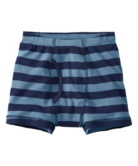 3b044e999b26 Hanna Andersson Navy & Voyager Organic Cotton Boxer Briefs | Zulily