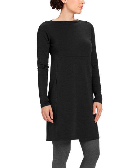 89c1f18689 nau Caviar Elementerry Boatneck Dress