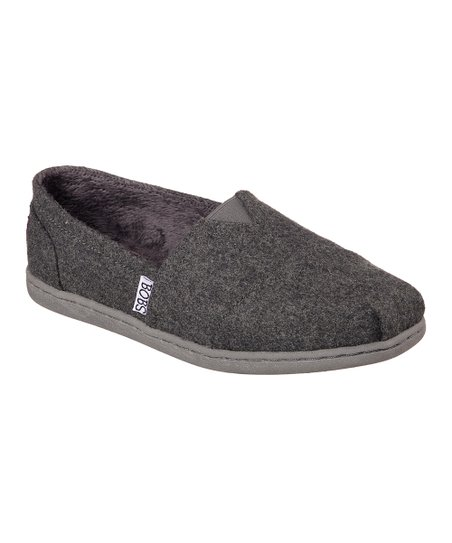3ddabb97a623 BOBS from Skechers Charcoal Bobs Bliss Hot Cocoa Wool Slip-On Shoe ...