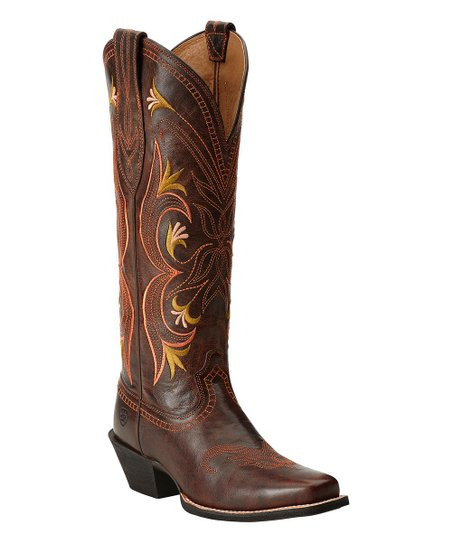 look for new arrive new authentic Ariat Brown Lantana Leather Regular & Wide-Calf Boot - Women