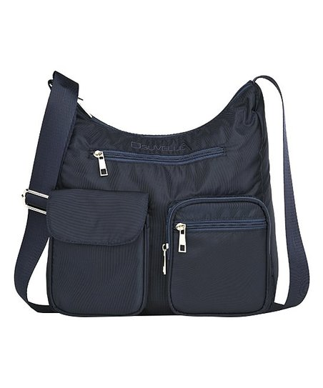 love this product Blue Carryall RFID Travel Crossbody Bag 26a8d1d5cece0