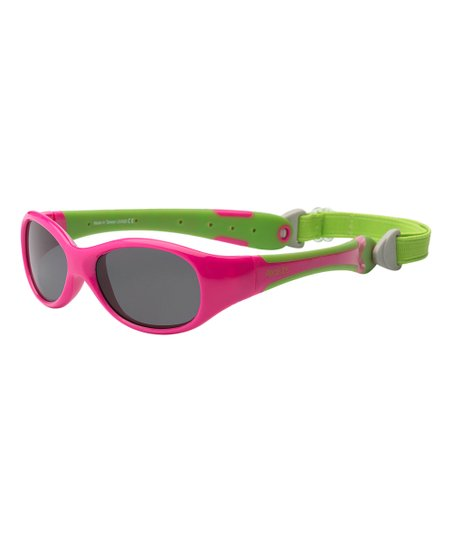 fb1bee738f5 love this product Pink   Green Flex-Fit Removable-Band Sunglasses - Infant