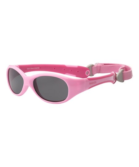 923ee1f94ba My First Shades Hot Pink Flex-Fit Removable-Band Sunglasses - Infant ...
