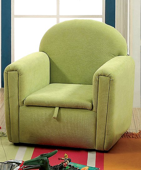 Marvelous Serendipity Green Kids Lift Top Storage Arm Chair Zulily Dailytribune Chair Design For Home Dailytribuneorg