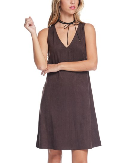 64ba5dad96 love this product Brown V-Neck Dress - Women
